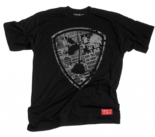 Subrosa X THE COME UP Collaboration T-Shirt Black