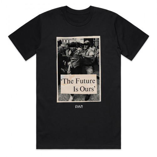 Triko Cult FUTURE IS OURS Black