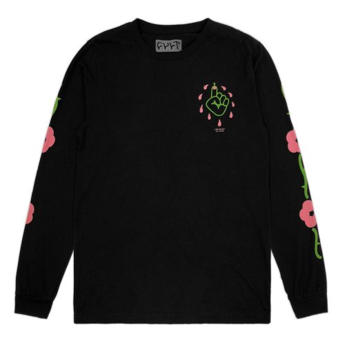 Triko Cult THORNPRICK L/S Black