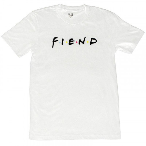 Triko Fiend FRIENDS White