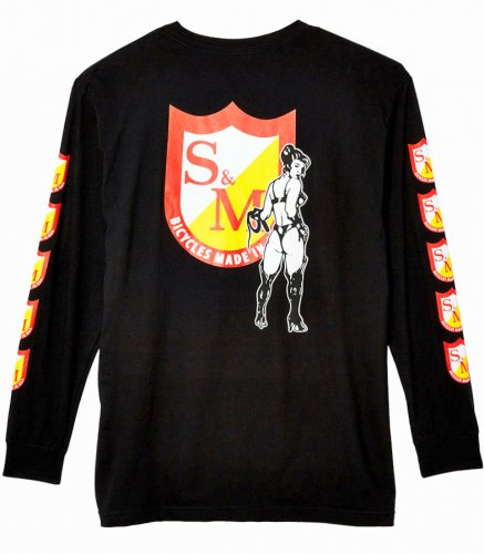 Triko S&M WHIP GIRL LS Black