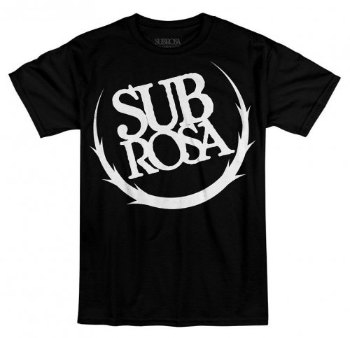 Triko Subrosa BIG CREST Black