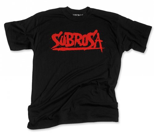 Triko Subrosa SPLATTERED Black