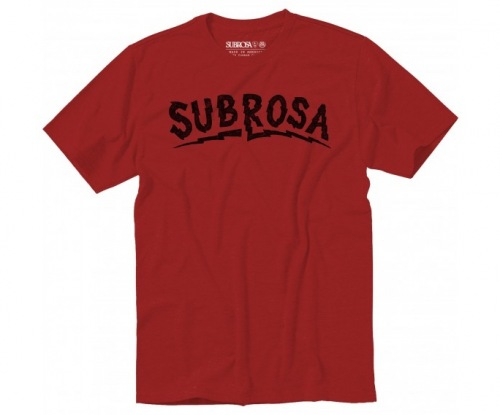 Triko Subrosa VOLTAGE Red
