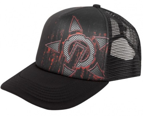 Unit GRIND Trucker Cap Black