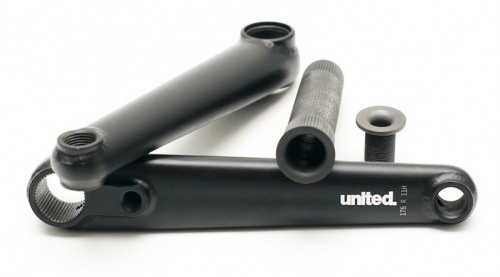 United Nathan NASH Cranks Black