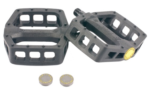 United VALENTINO Nylon Pedals Black