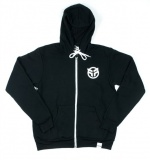Mikina Federal ZIP UP LOGO Black