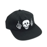 Kšiltovka Cult POLITICS 5 Panel Black