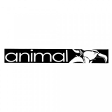 Samolepka Animal STREET Sticker Black