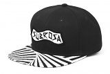 Kšiltovka Subrosa PARTY Snapback Black/White
