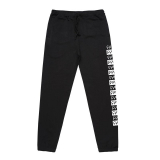 Tepláky Cult PATTERN SWEATS Black